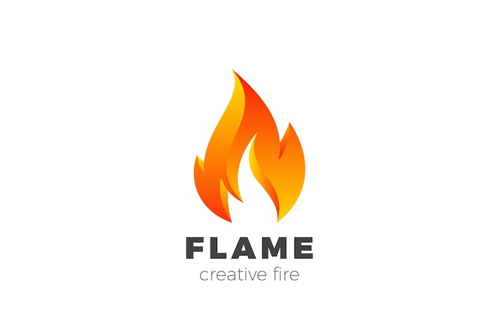 Thumbnail for Logo Fire Flame Burning Abstract