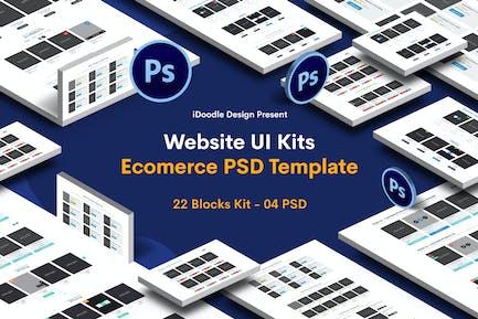 Website Ecommerce UI Kits