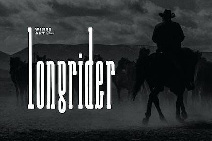 Long Rider - The Cowboy Font
