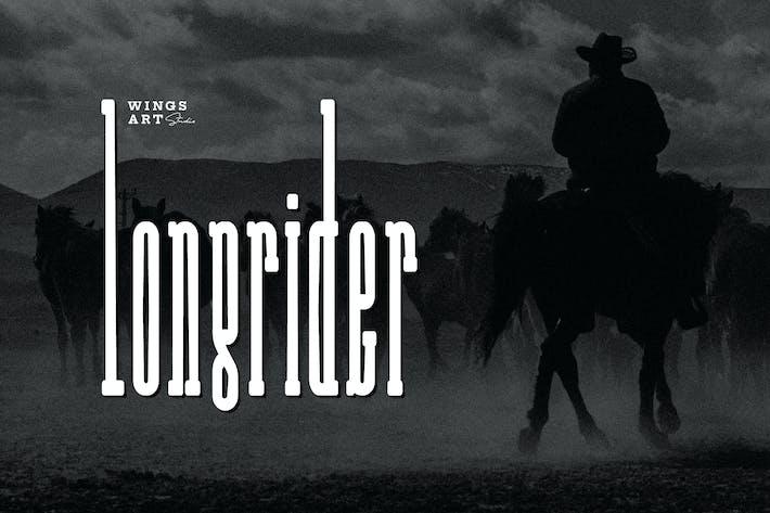 Thumbnail for Long Rider - The Cowboy Font