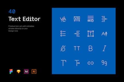 Text Editor - Iconuioo