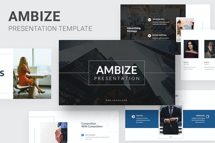 Thumbnail for Ambize - Pitch Deck Keynote