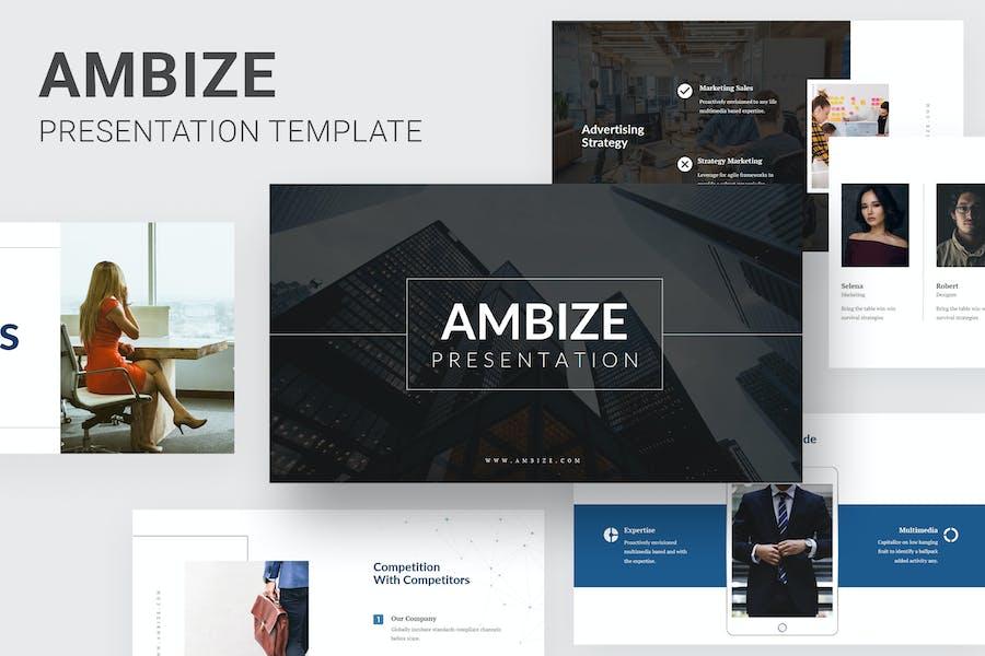 Ambize - Pitch Deck Keynote
