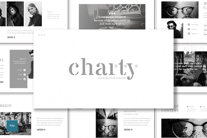 Thumbnail for Charty - Keynote Template