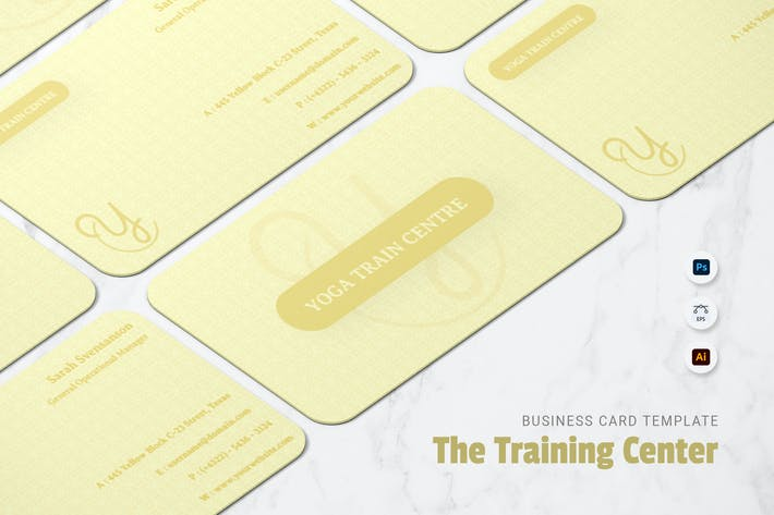 Thumbnail for Training Centre Business Card