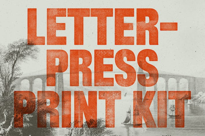 Thumbnail for Letterpress Print Kit