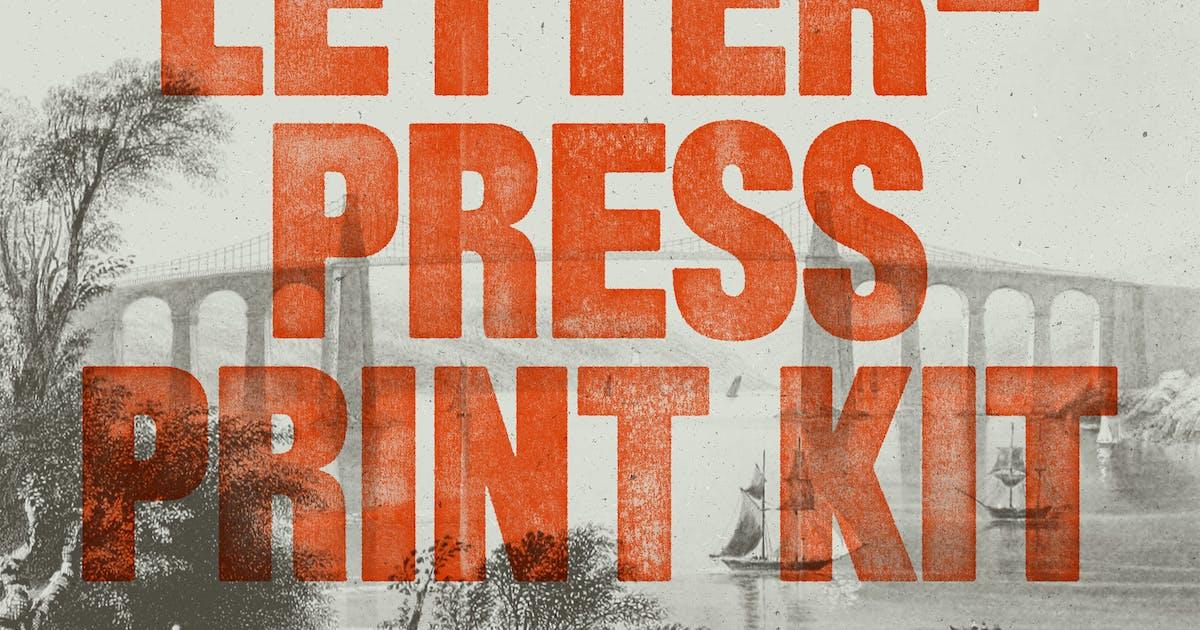 Download Letterpress Print Kit by rhett