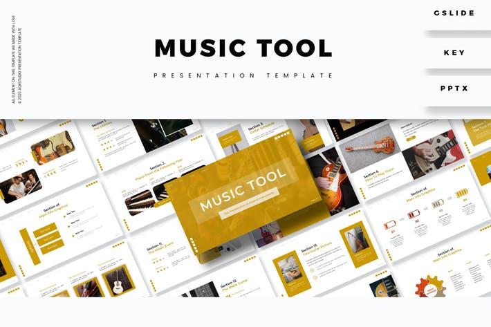 Thumbnail for Музыка тоже - Шаблон презентации