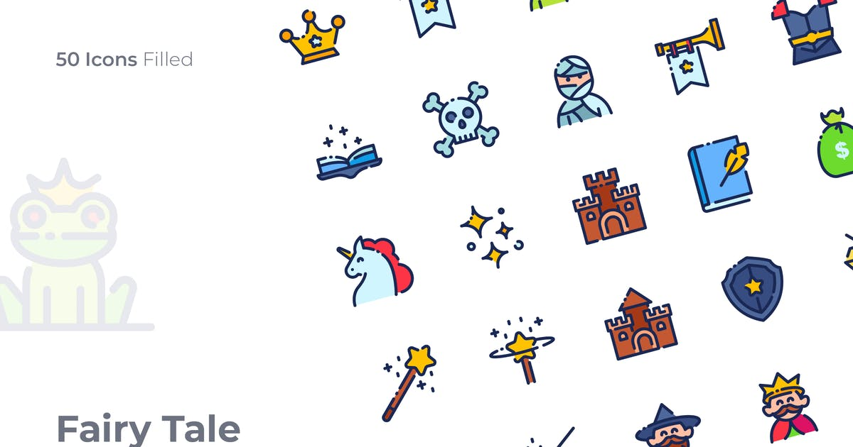Download Fairy Tale Filled Icon by GoodWare_Std