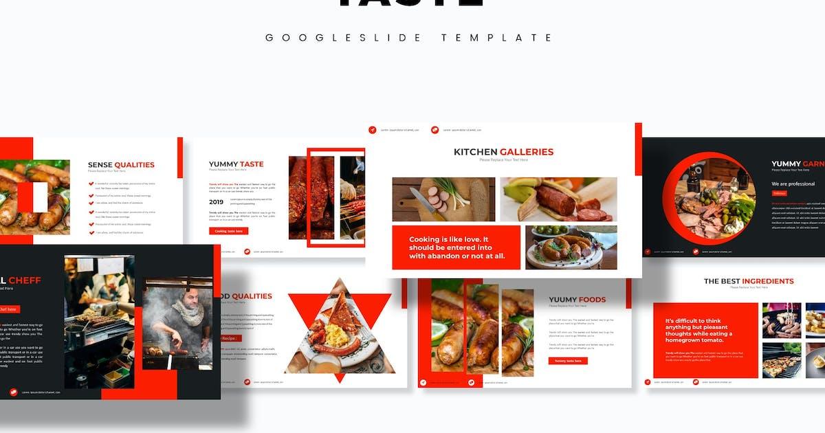 Download Taste - Google Slides Template by aqrstudio