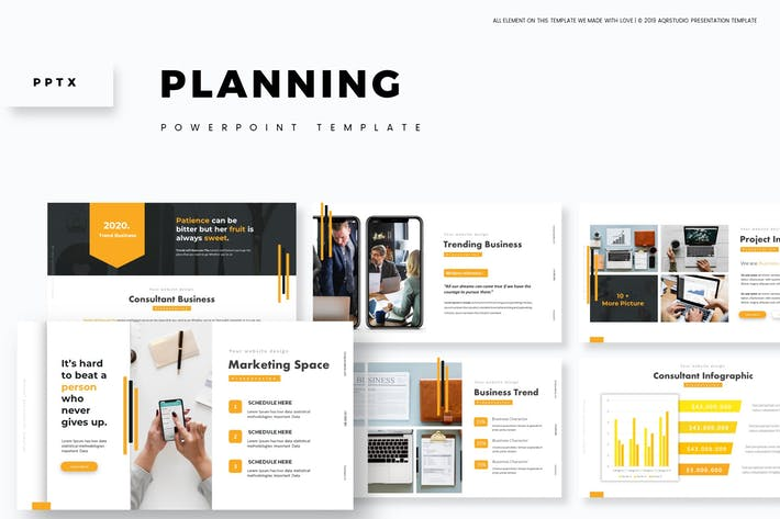 Thumbnail for Планирование - Шаблон Powerpoint
