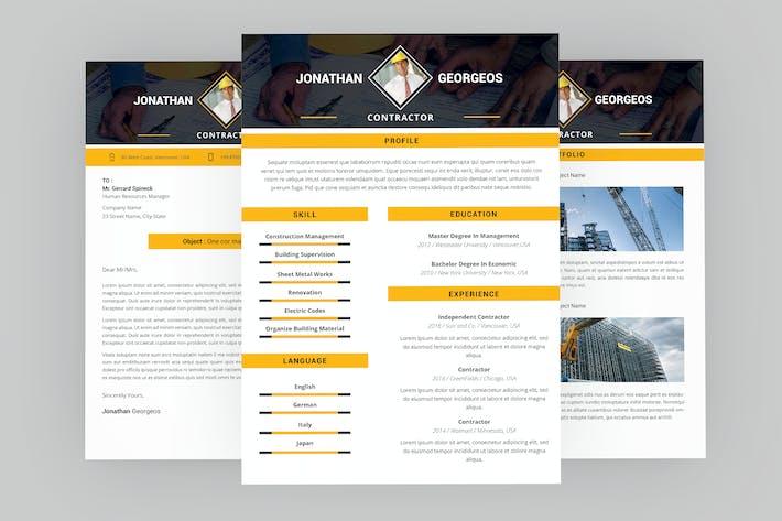 Thumbnail for Credit CV Resume Designer
