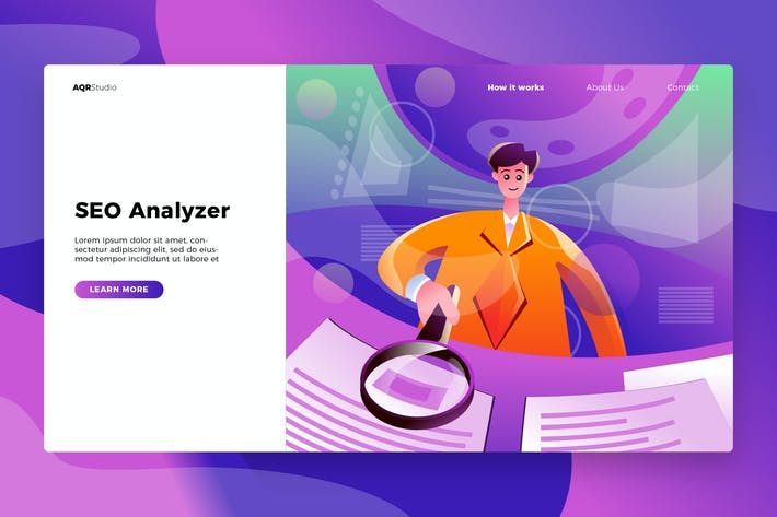 Thumbnail for SEO Analyzer - Banner & Landing Page