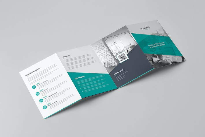 Thumbnail for Brochure – Corporate 4-Fold A5