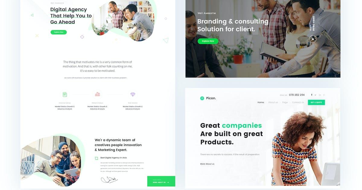 Download Gullu- Digital Agency & Multipurpose HTML Template by CreativeGigs