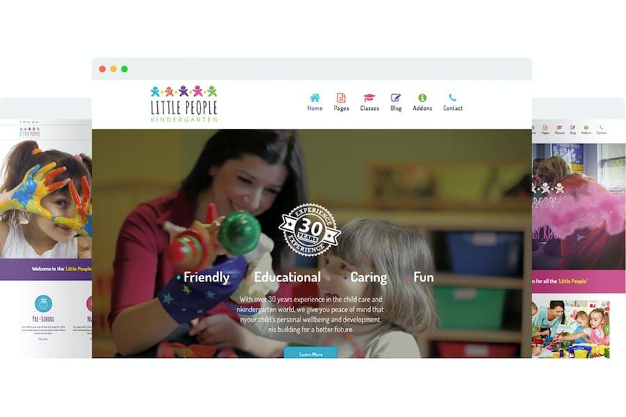 Little People | Kindergarten Joomla Template