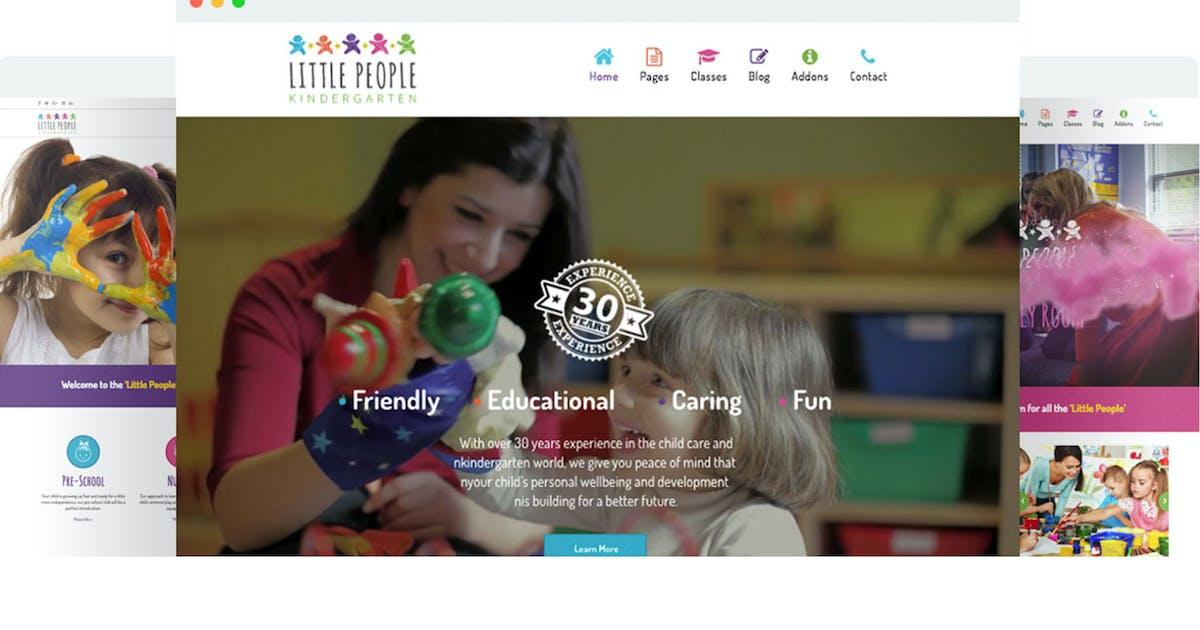 Download Little People | Kindergarten Joomla Template by SpyroPress