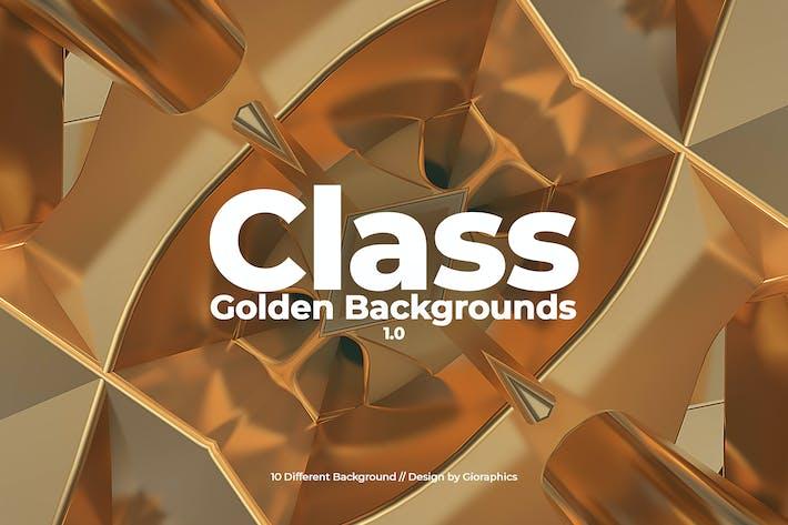 Klasse-Goldene Hintergründe