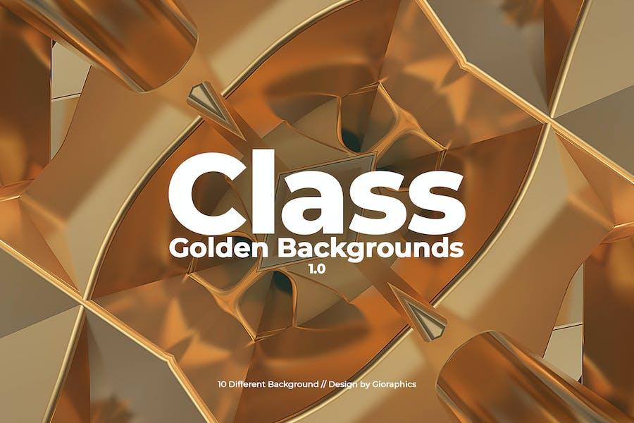 Class Golden Backgrounds