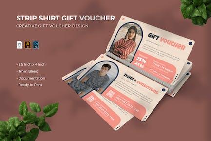 Strip Shirt   Gift Voucher