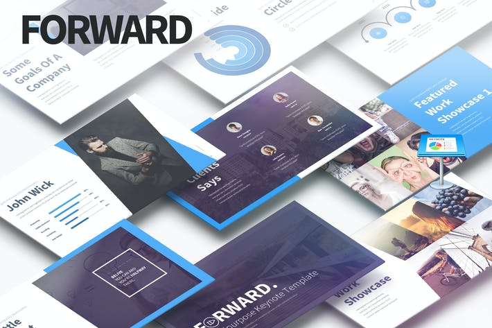Thumbnail for Forward - Multipurpose Keynote Presentation