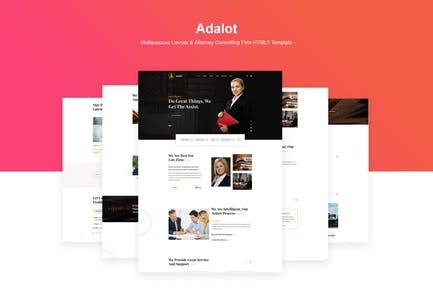 Adalot   Lawyer Consulting Firm HTML5 Template