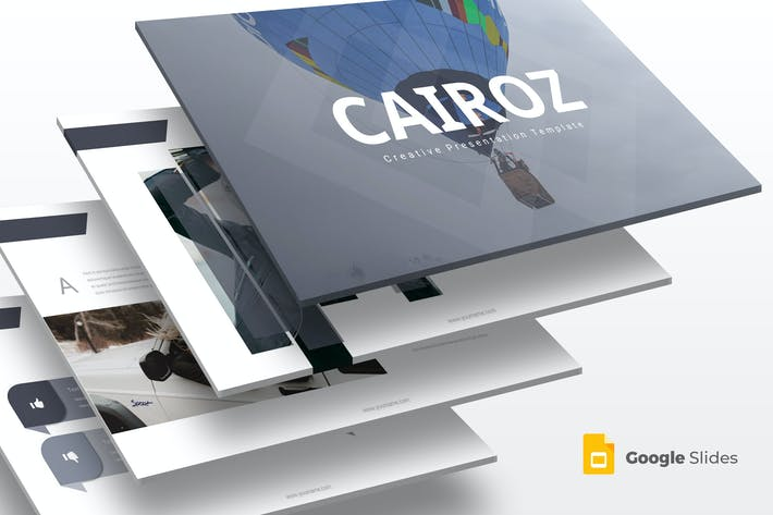 Thumbnail for Cairoz - Google Slide Template
