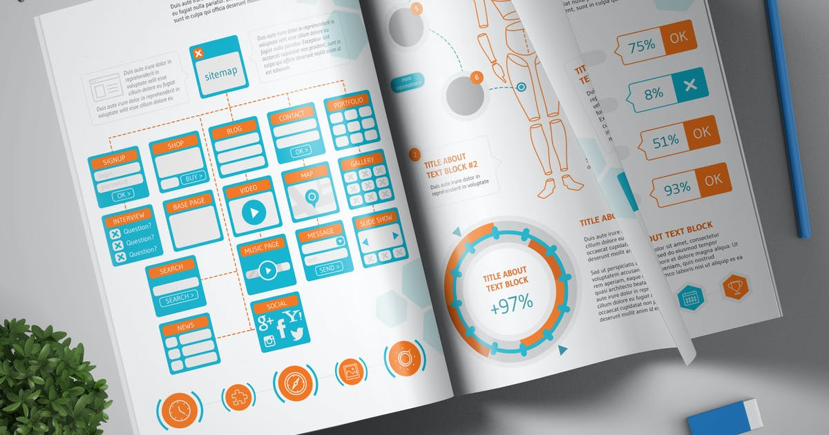 Download Megapack Infographic Set #1 by Site2max