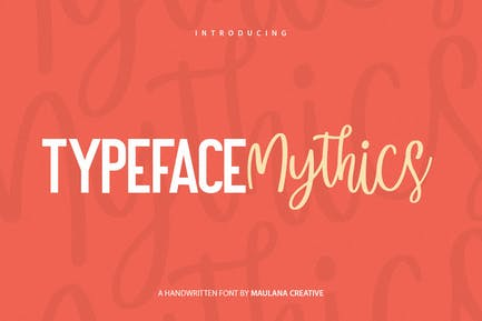Mysthics - Font Duo Script Sans Tipo de letra