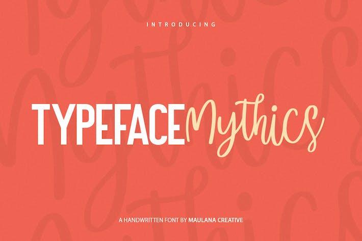 Thumbnail for Mysthics - Font Duo Script Sans Tipo de letra