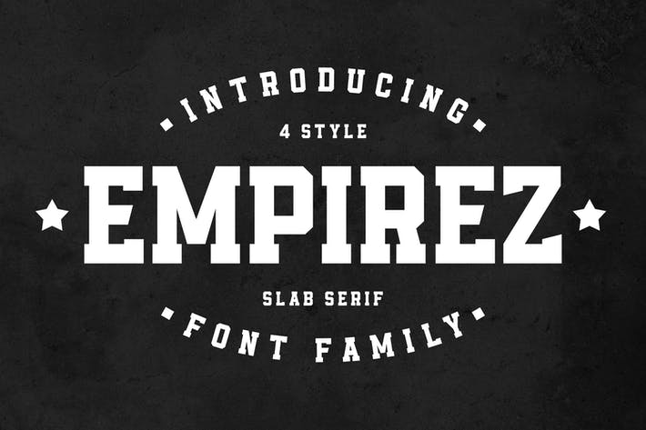 Thumbnail for Empirez - Slab Serif