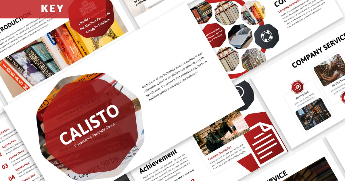 Download Calisto - Business Keynote Template by Blesstudio