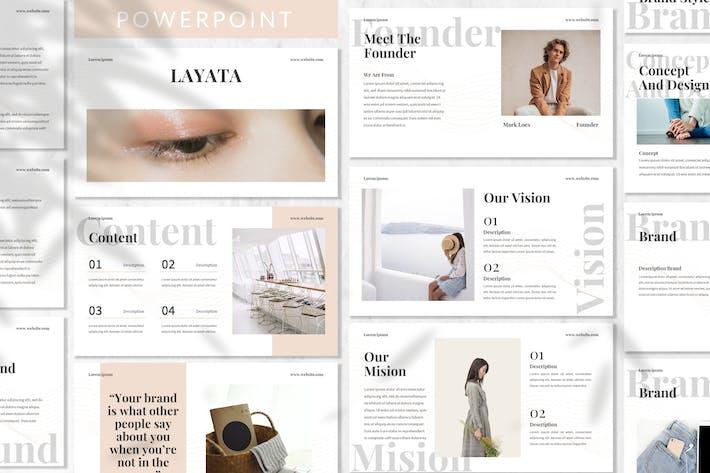 Thumbnail for Layata - Brand Identity Powerpoint Template