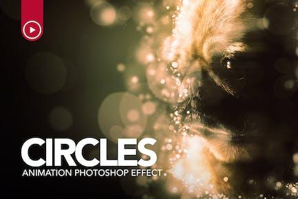 Circles Animation Photoshop Action