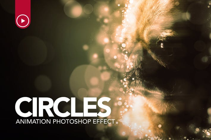 Thumbnail for Circles Animation Photoshop Action
