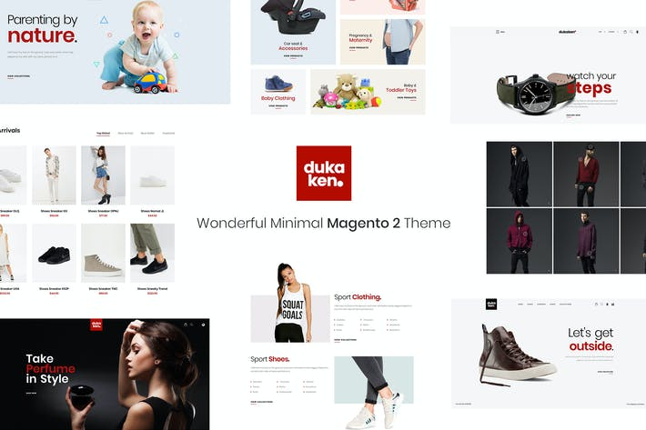 Thumbnail for Dukaken - Wonderful Magento 2 Theme