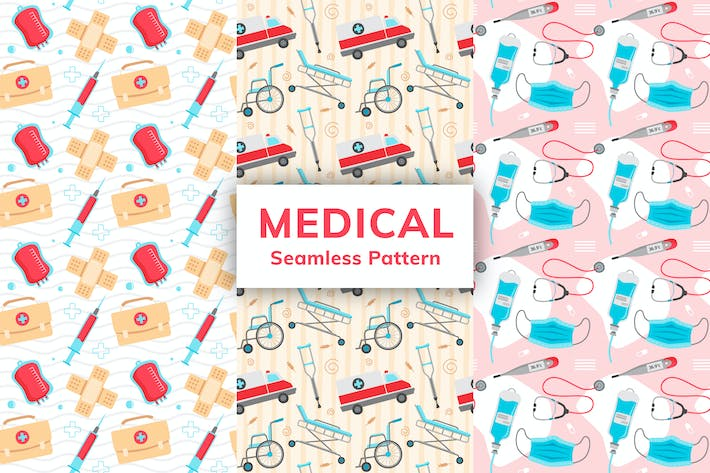 Thumbnail for Medical Seamless Pattern