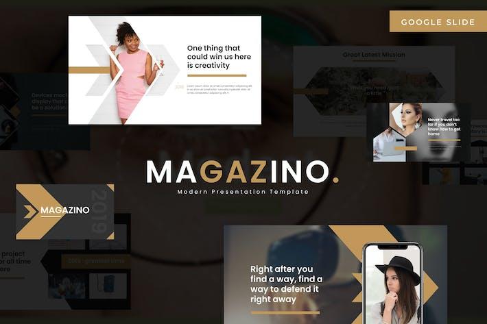 Cover Image For Magazino - Google Slides Template