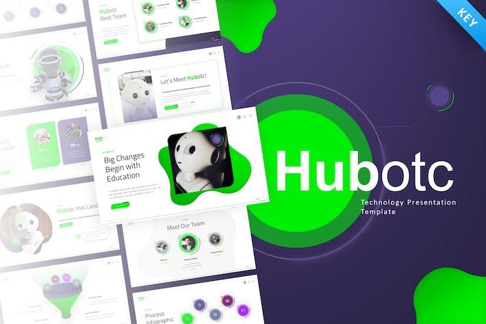 Thumbnail for Hubotc Technology Keynote Presentation Template