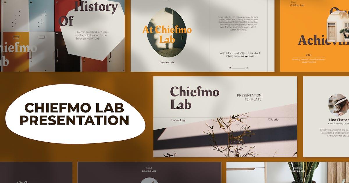 Download Chiefmo Lab Presentation Template by jiwstudio