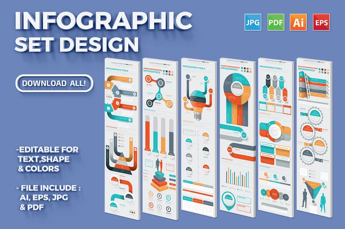 Cover Image For Infographic Set