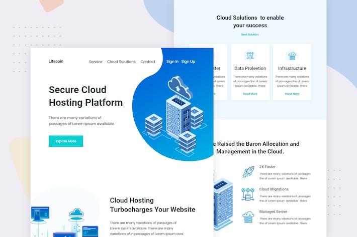 Thumbnail for Cloud Host - Email Newsletter