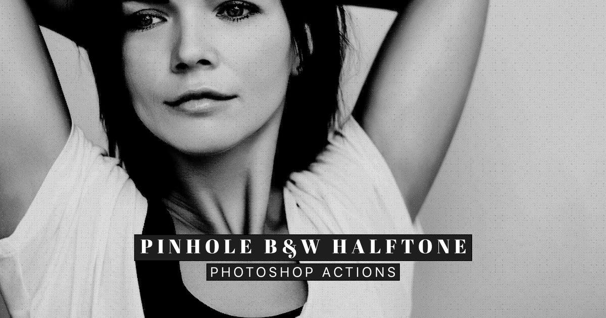 Download Pinhole Halftone Photoshop Actions by creativetacos