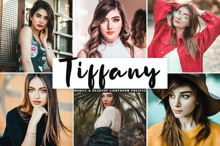 Thumbnail for Tiffany Mobile & Desktop Lightroom Presets