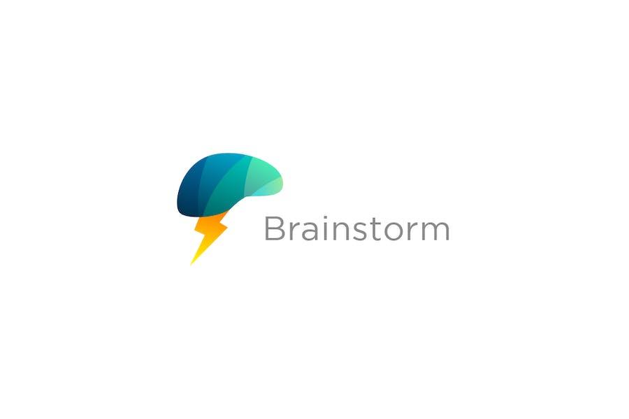 Brainstorm - Brain Logo