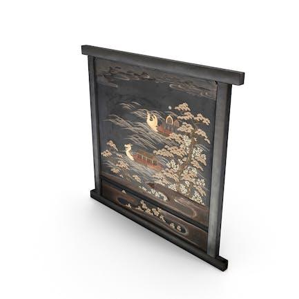 Asiatische Panel-Wand-Kunst