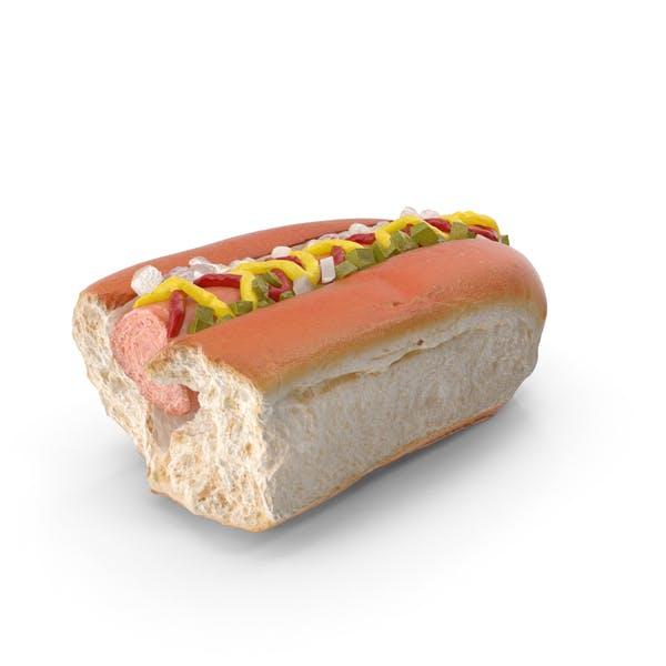 Hot Dog Bitten