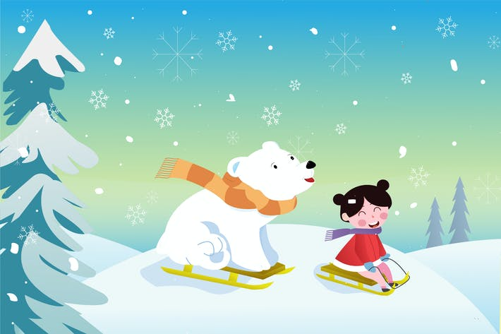 Thumbnail for Winter Cute Illustration
