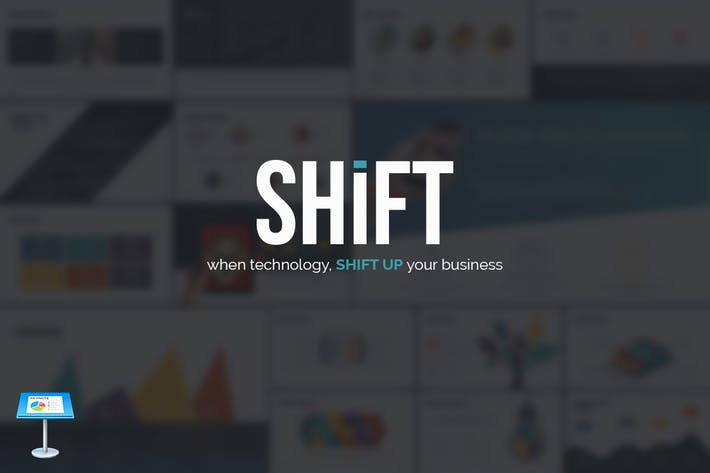 Thumbnail for SHIFT Keynote Template