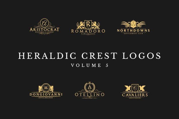 Thumbnail for Heraldic Crest Logos Vol.5